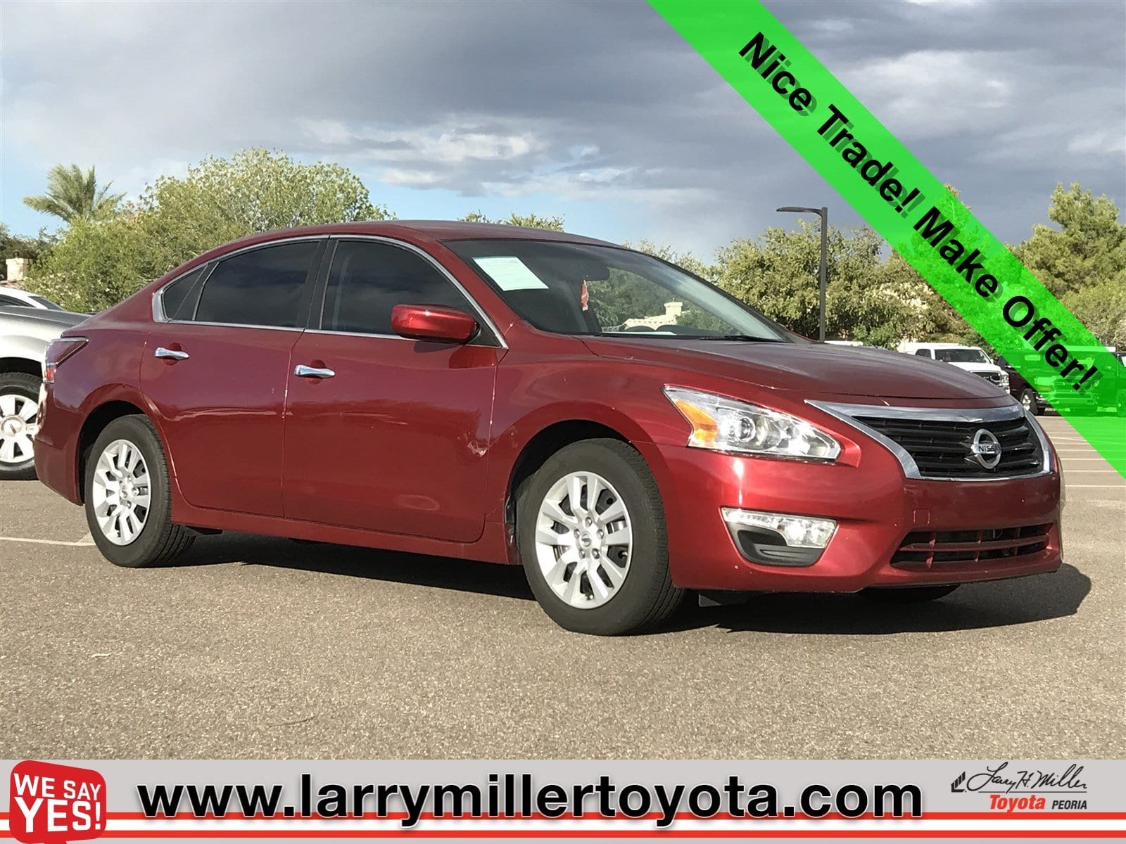 Photo Used 2015 Nissan Altima For Sale  Peoria AZ  Call 602-910-4763 on Stock 81209A