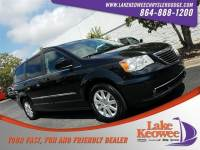 Certified Used 2015 Chrysler Town & Country Touring Wagon For Sale NearAnderson, Greenville, Seneca SC