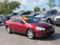 Pre-Owned 2003 Acura RSX 3dr Sport Cpe Manual w/Leather FWD