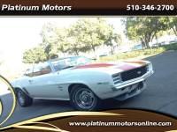 1969 Chevrolet Camaro SS ~ L@@K ~ Just Arrived ~ White On Orange ~ Sweet Ri