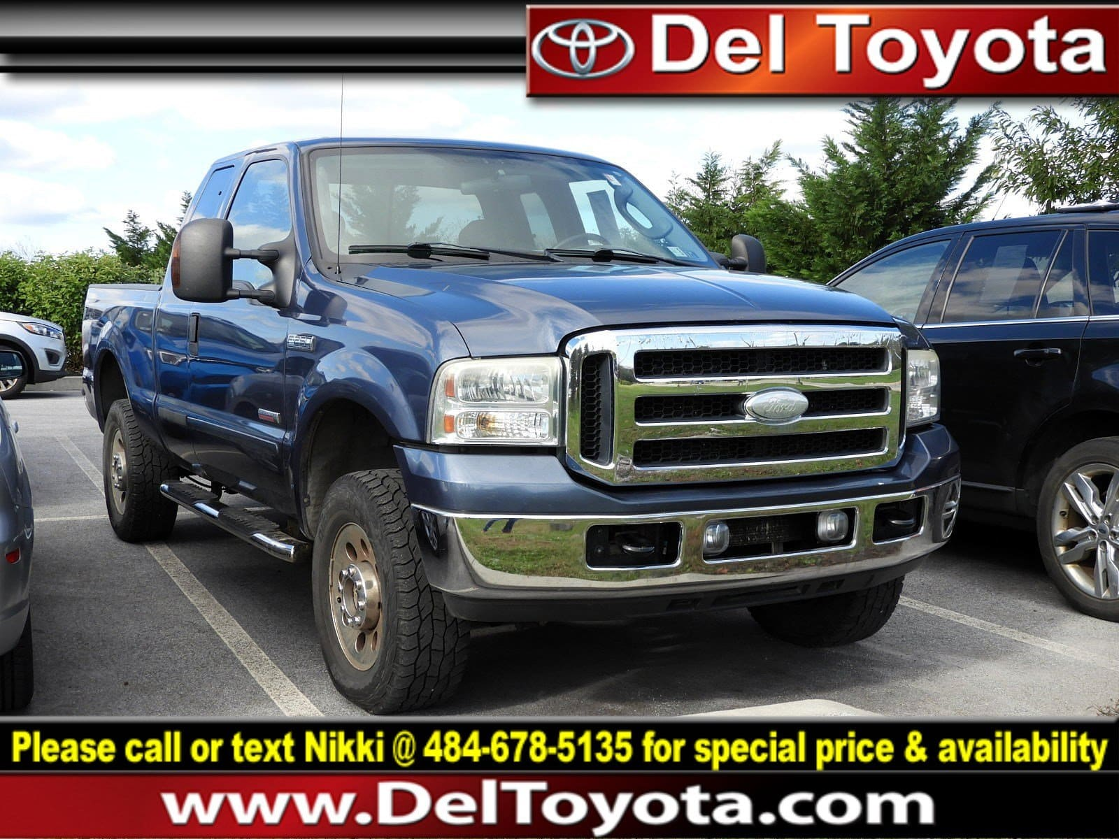 Photo Used 2007 Ford Super Duty F-250 XLT For Sale  Serving Thorndale, West Chester, Thorndale, Coatesville, PA  VIN 1FTSX21P07EA19415