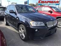 2013 BMW X3 xDrive28i SAV I-4 cyl