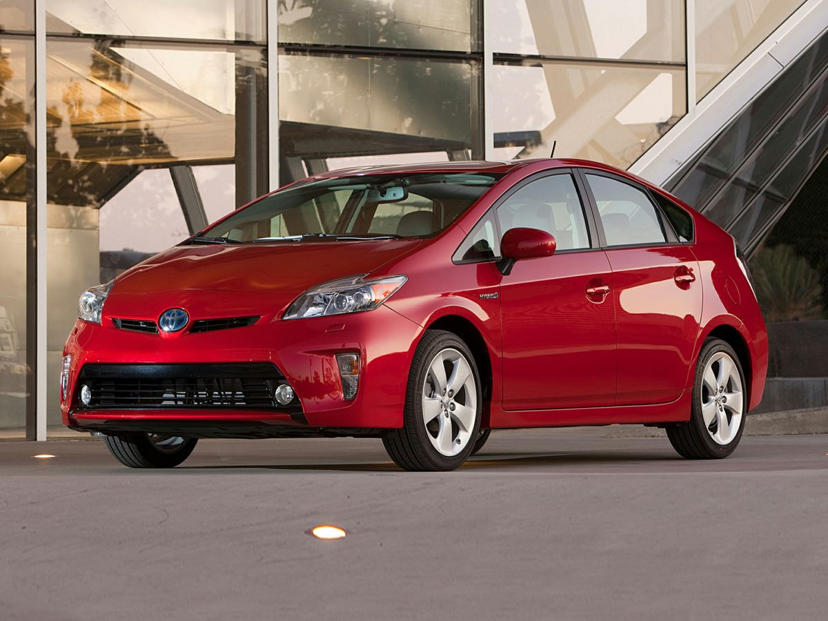 Photo Used 2015 Toyota Prius Three Hatchback FWD For Sale in Houston