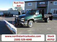 Used 2006 Chevrolet 3500 4x4 Flat Bed Truck
