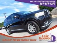 Certified Used 2017 Dodge Durango SXT SXT RWD For Sale NearAnderson, Greenville, Seneca SC