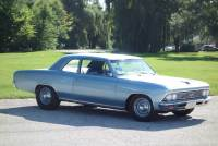 1966 Chevrolet Chevelle 300 Deluxe-Post Sedan-4 Spd- FROM SOUTH CAROLINA -SEE VIDEO