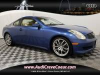 2007 INFINITI G35 Coupe Coupe