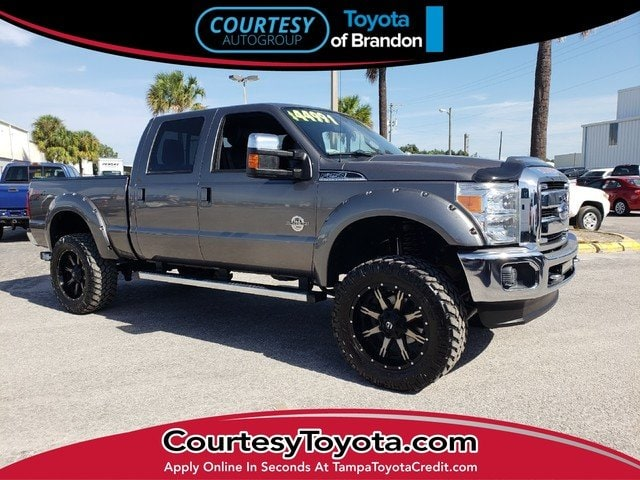 Photo Pre-Owned 2014 Ford F-250 XLT Truck Crew Cab near Tampa FL