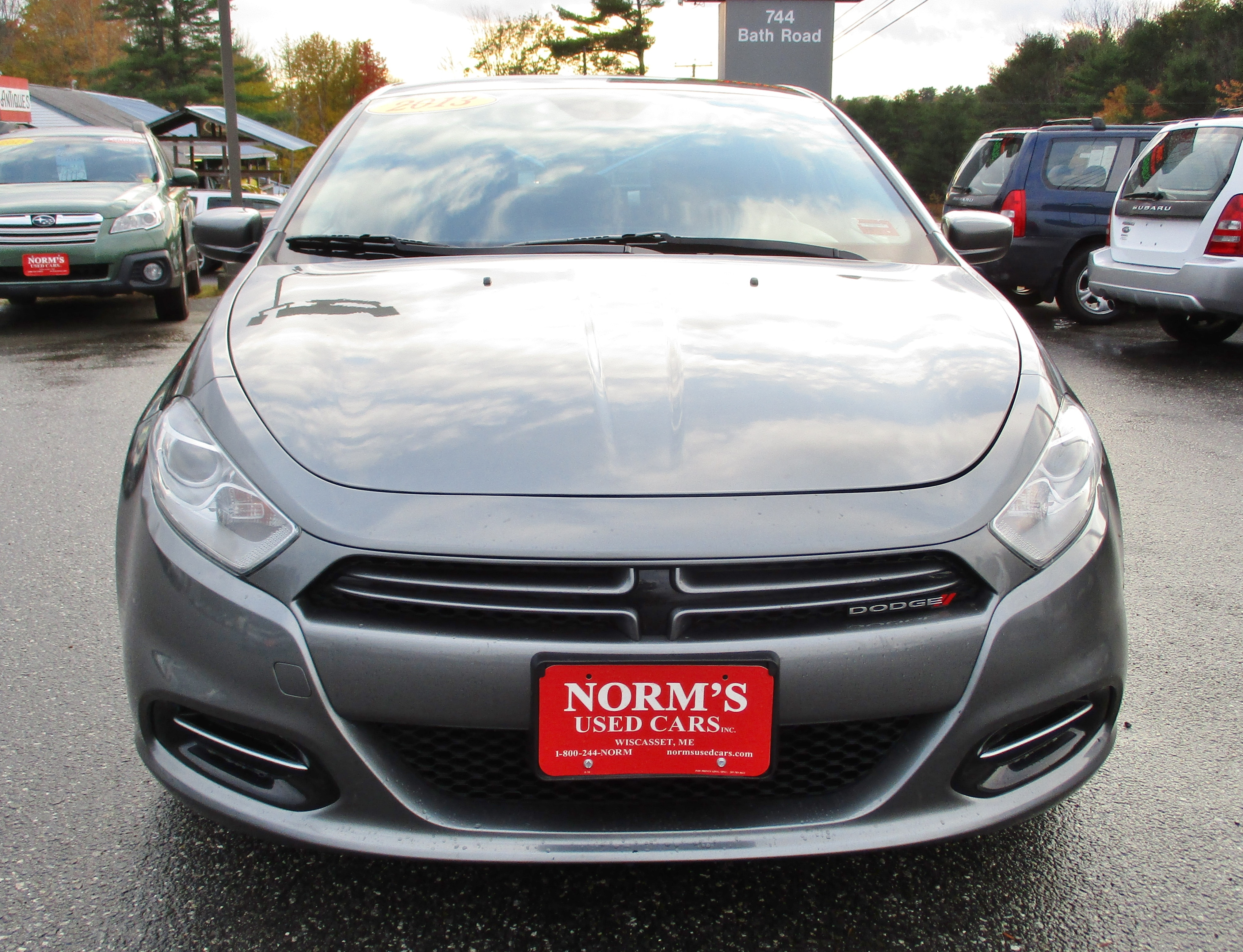 Photo Used 2013 Dodge Dart For Sale  Wiscasset ME