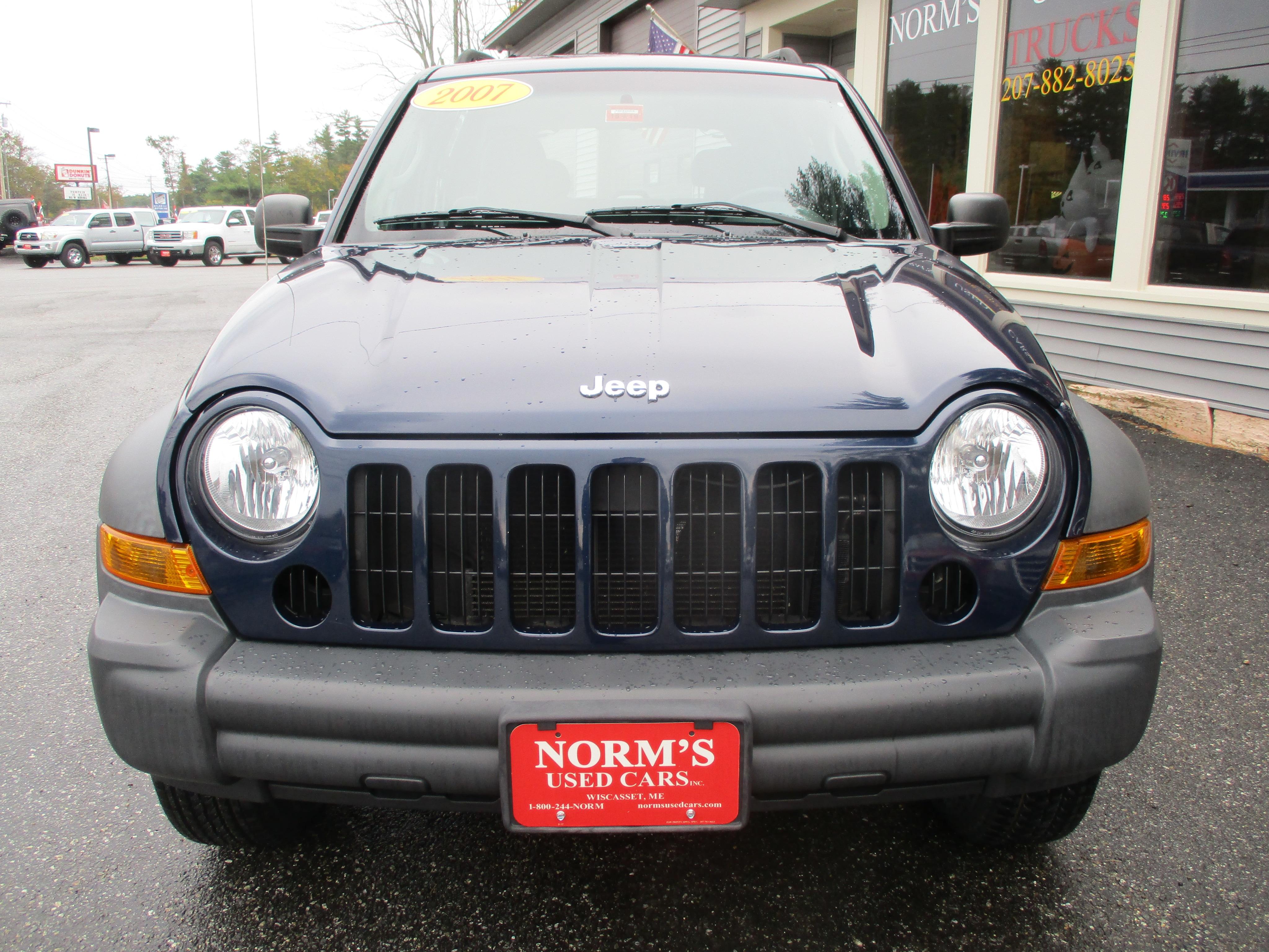 Photo Used 2007 Jeep Liberty For Sale  Wiscasset ME