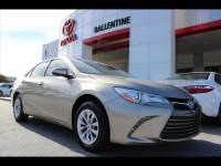 2017 Toyota Camry LE Sedan Front-wheel Drive