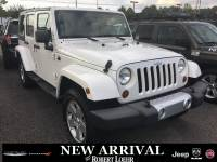 Used 2010 Jeep Wrangler Unlimited Sahara SUV in Cartersville GA