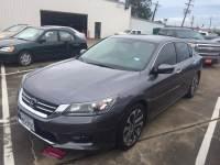 Pre-Owned 2014 Honda Accord Sedan Sport Front Wheel Drive Cars