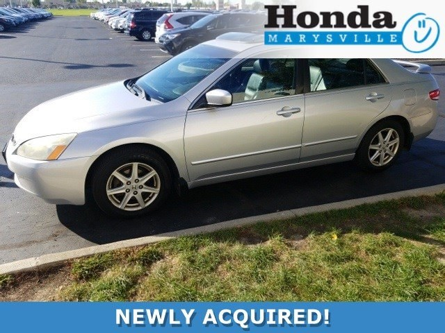 Photo Used 2003 Honda Accord EX-L Sedan
