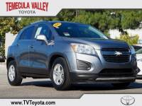 2015 Chevrolet Trax LT SUV Front-wheel Drive in Temecula