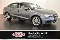 Certified Used 2016 Audi A3 2.0T Premium Sedan in Rockville, MD