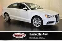 Used 2016 Audi A3 2.0T Premium Plus Sedan in Rockville, MD