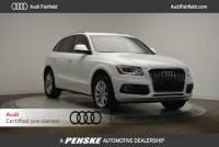 Certified Pre-Owned 2015 Audi Q5 2.0T Premium (Tiptronic) SUV in Fairfield, CT