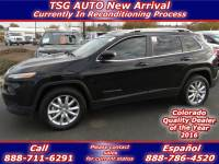 2017 Jeep Cherokee Limited 2.4L I4 4WD W/Leather