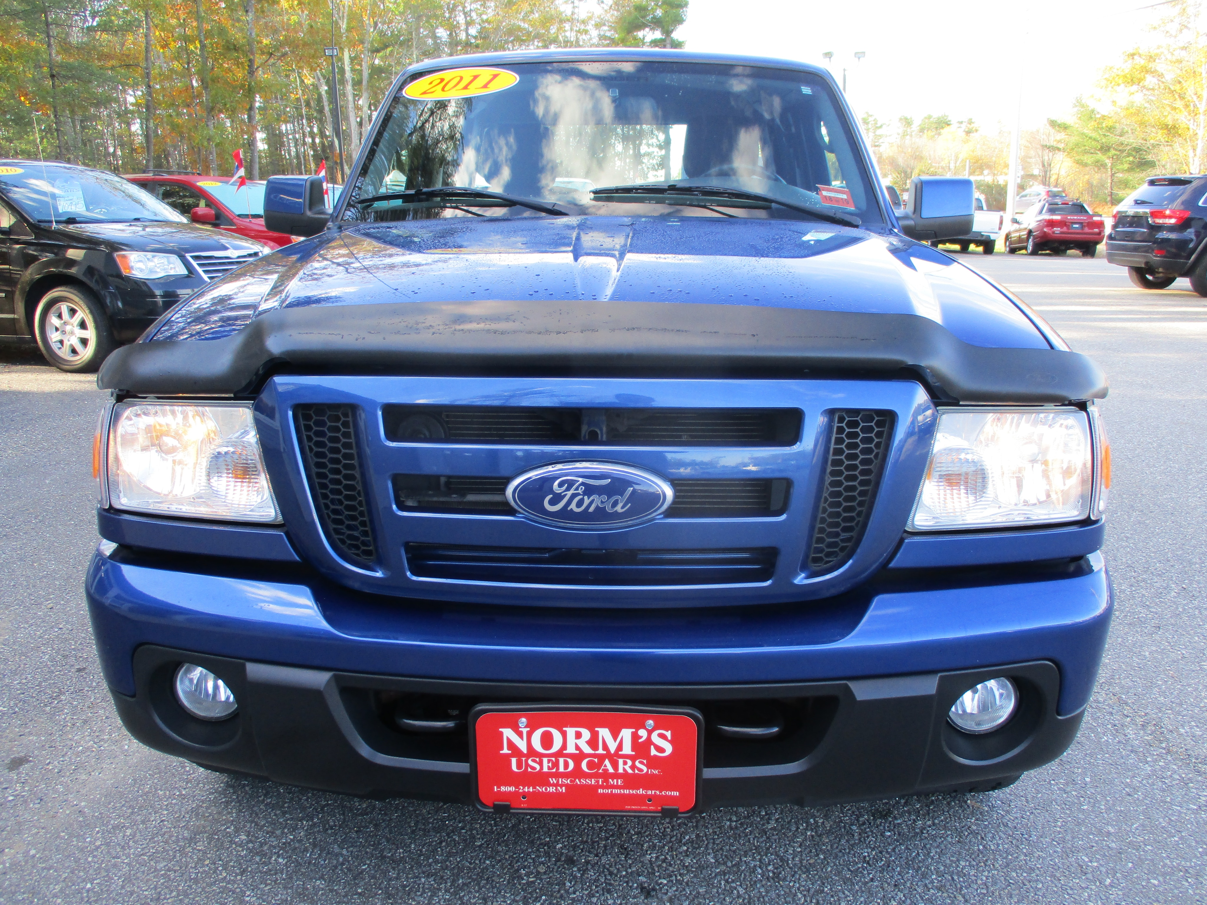 Photo Used 2011 Ford Ranger For Sale  Wiscasset ME
