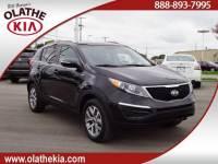 Used 2015 Kia Sportage LX For Sale in Olathe, KS near Kansas City, MO