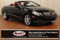 2012 Mercedes-Benz E-Class E 350 2dr Cabriolet RWD in Fort Myers