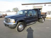 Used 2003 Ford F-450 Crew-Cab Dump Truck