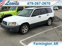 Used 2004 Subaru Forester 2.5 X SUV in Fayetteville