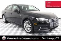 Used 2017 Audi A4 2.0T Season of Audi Premium Sedan in Danbury