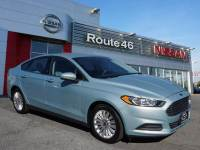 Used 2014 Ford Fusion Hybrid S Sedan for sale in Totowa NJ