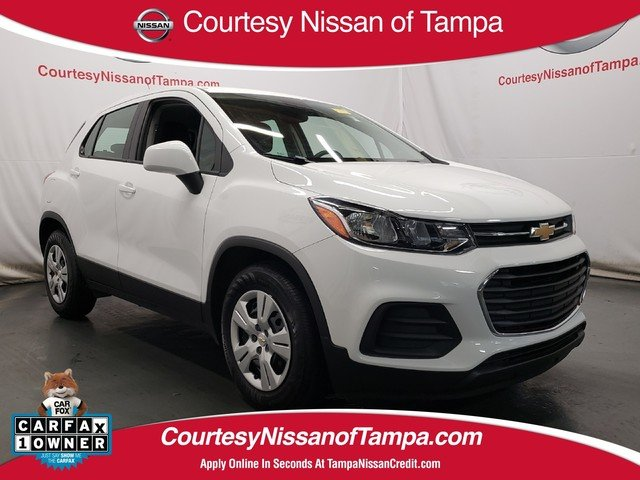 Photo Pre-Owned 2017 Chevrolet Trax LS SUV in Jacksonville FL