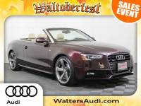 Pre-Owned 2015 Audi A5 Cabriolet Premium Plus