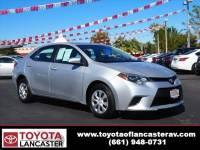 Used 2015 Toyota Corolla For Sale | Lancaster CA | 5YFBURHE3FP199545