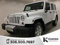 Certified Pre-Owned 2012 Jeep Wrangler Unlimited Sahara | Heated Seats | Remote Start 4WD Convertible