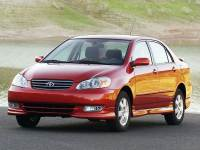 Pre-Owned 2003 Toyota Corolla CE FWD 4D Sedan