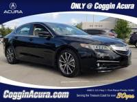 Certified 2016 Acura TLX TLX 3.5 V-6 9-AT P-AWS with Advance Package Sedan in Fort Pierce FL