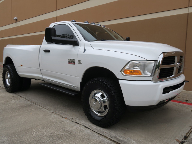 Photo 2012 Dodge Ram 3500 ST Single Cab DRW 4WD Diesel 6 Speed