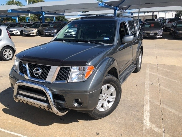 Photo 2006 Nissan Pathfinder LE For Sale Near Fort Worth TX  DFW Used Car Dealer