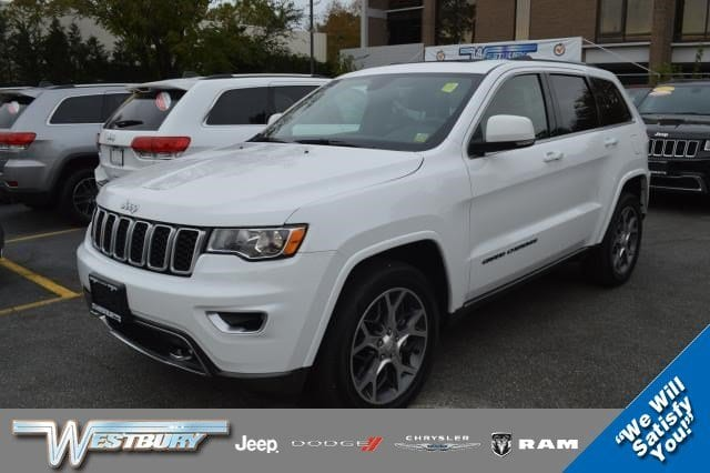 Photo Certified Used 2018 Jeep Grand Cherokee Sterling Edition Sterling Edition 4x4 Ltd Avail Long Island, NY