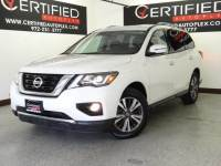 2018 Nissan Pathfinder SV 4WD REAR CAMERA REAR PARKING AID POWER SEAT REAR AIR CONDITIO