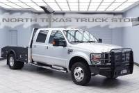 2010 Ford Super Duty F-350 Lariat Diesel 4x4 Heated Leather Flat Bed Hauler