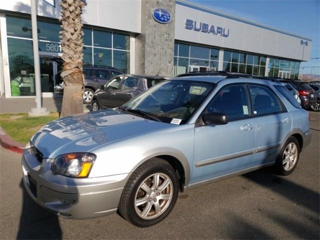Photo Used 2005 Subaru Impreza Outback Sport for sale in Fremont, CA