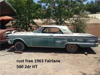 1963 Fairlane 2dr ht