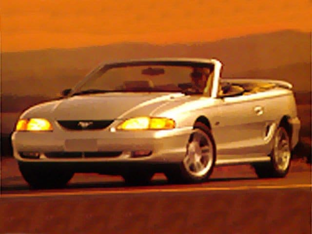 Photo Used 1998 Ford Mustang GT Convertible For Sale in Fairfield, TX