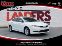 CERTIFIED PRE-OWNED 2015 CHRYSLER 200 LIMITED FWD 4DR CAR
