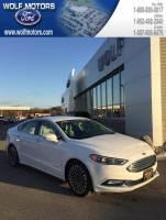 Pre-Owned 2017 Ford Fusion Hybrid Titanium FWD Sedan