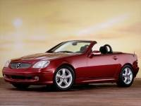 2001 Mercedes-Benz SLK-Class Coupe in Boston