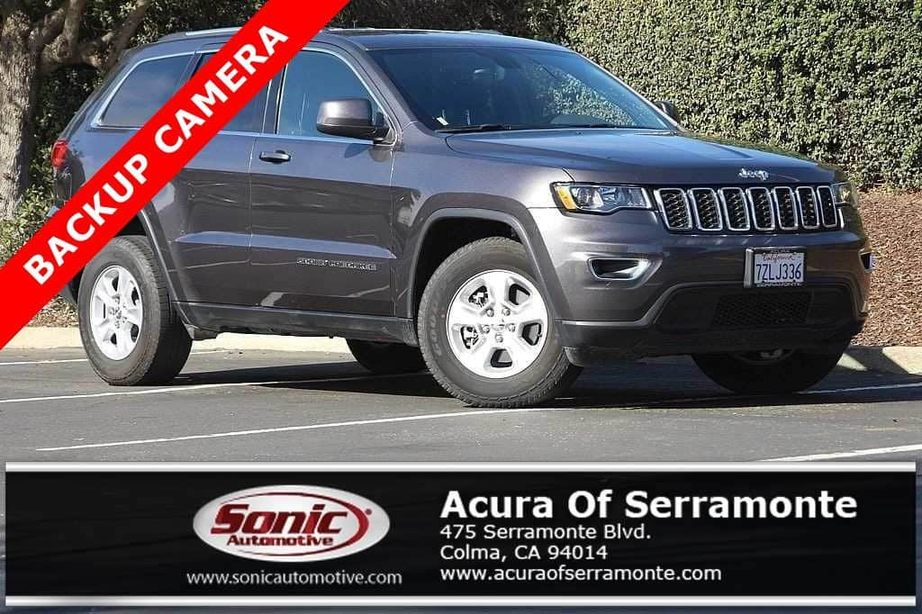 Photo Used 2017 Jeep Grand Cherokee Laredo 4x4 For Sale in Colma CA  Stock RHC946296  San Francisco Bay Area