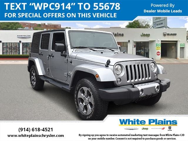 Photo 2017 Jeep Wrangler Unlimited Hardtop Sport Utility in White Plains, NY