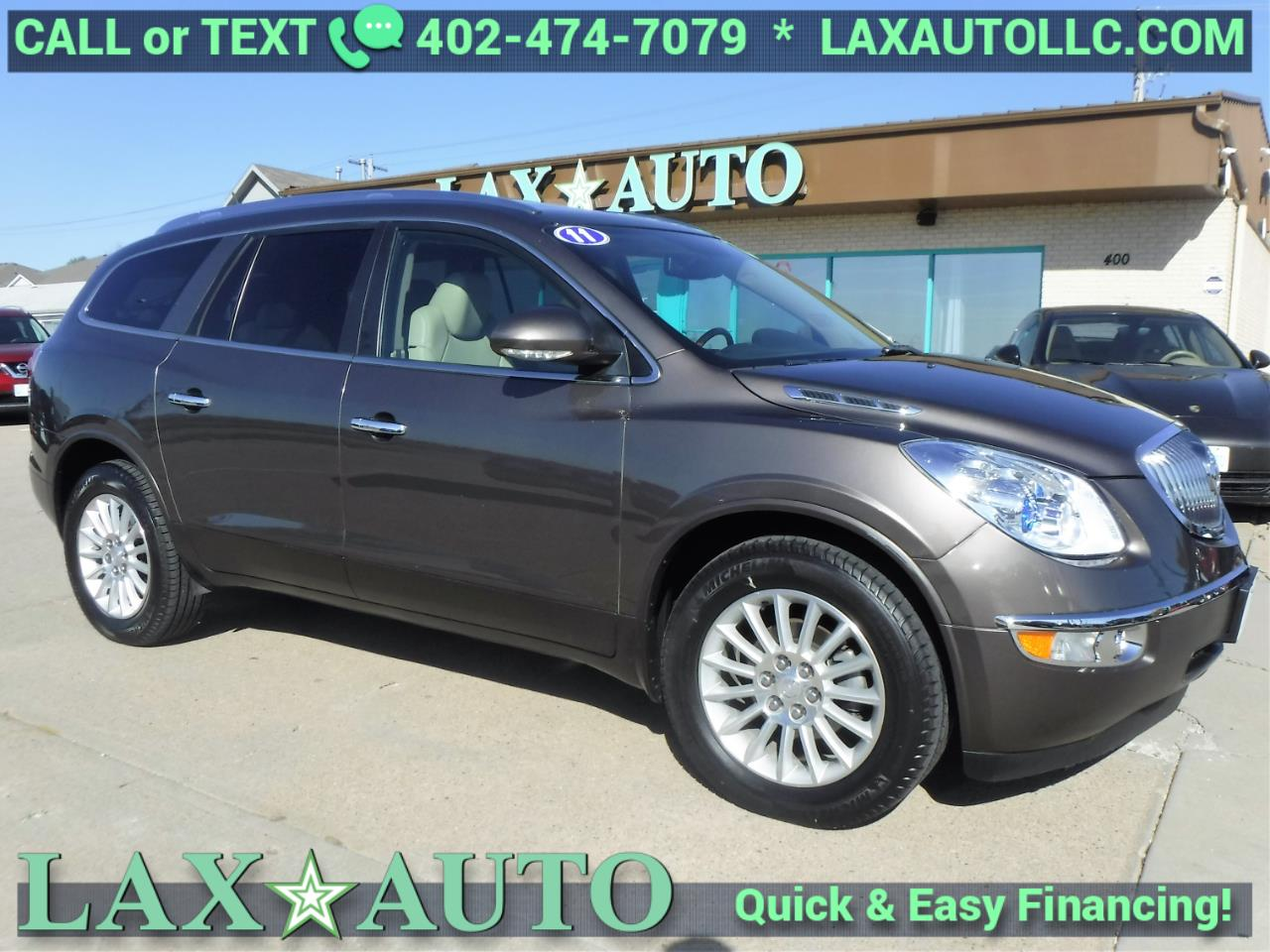 Photo 2011 Buick Enclave CXL-1 AWD Only 80k miles 3RD ROW  Back-up Cam